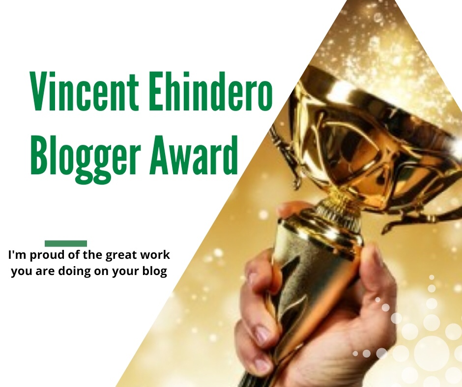 Vincent Ehindero – Welcome to my big family! I make posts about ...